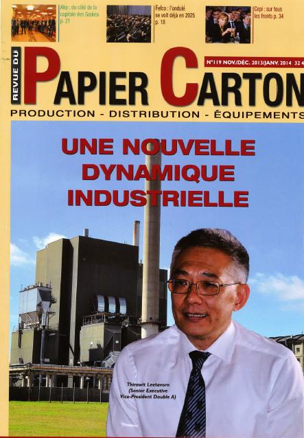 REVUE DU PAPIER CARTON